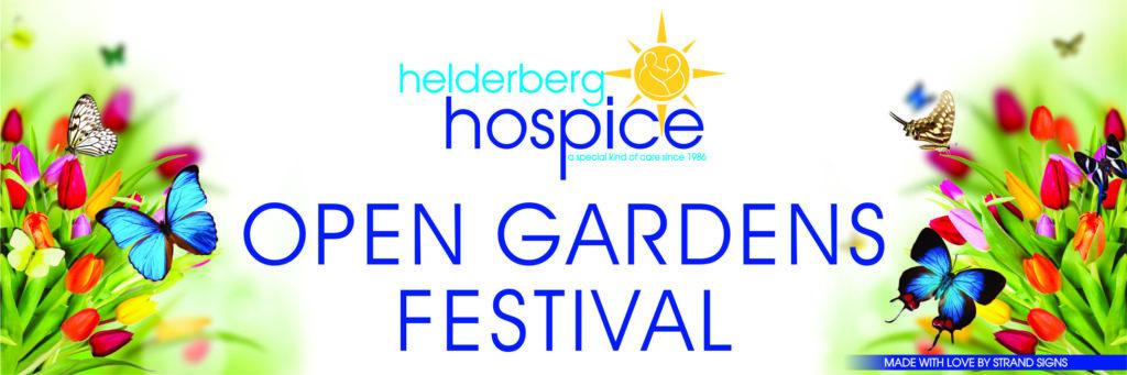 Helderberg Hospice Open Gardens Banner for Website