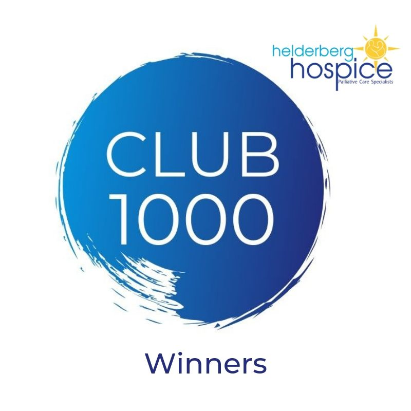 Club 1000 Winners Announcement